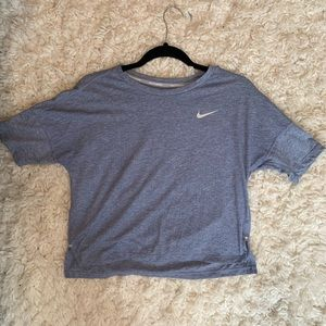 Selling a blue nike workout shirt